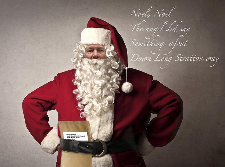 Santa card-FB
